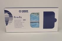 Fit-N-Fix Serviettenh. floral-blau 200St
