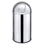 PUSH-Abfallbehälter, 24 Ltr., Ø 29 cm,