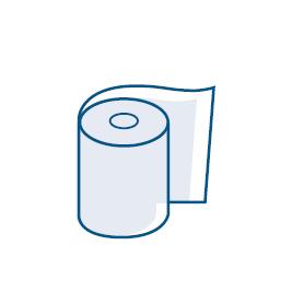 Trockene Tücher
